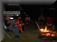 another great campfire session at Quinty40